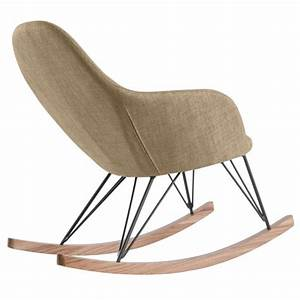 Rocking Chair Tissu : rocking chair malibu beige d couvrez nos rocking chair malibu beiges design rdv d co ~ Teatrodelosmanantiales.com Idées de Décoration