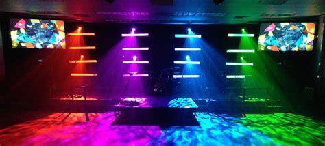 diy light bars church stage design ideas