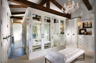 mirrored doors contemporary closet forest studio