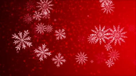 video animation   snowflakes falling stock footage