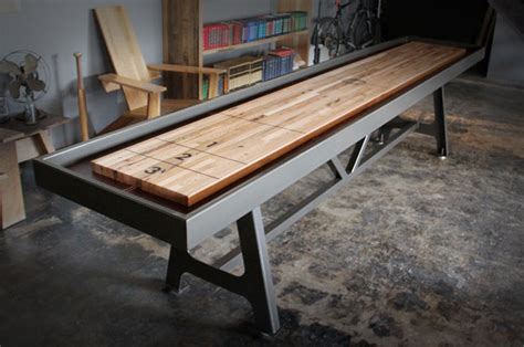 making a shuffleboard table diy shuffleboard table plans woodworking plans vanity