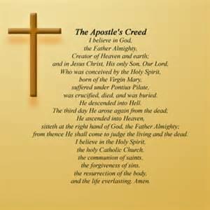 Lutheran Apostles Creed Prayer