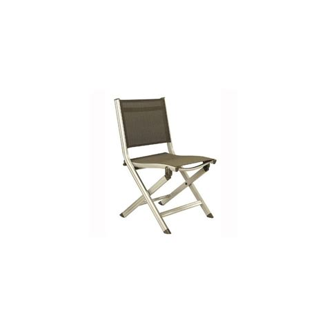 chaise pliante confortable chaise pliante kettler basic plus chagne mocca