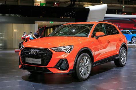 audi q3 zubehör 2019 audi q3 bows with sporty look high tech cabin