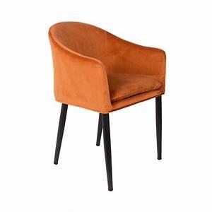 Fauteuil En Velours : fauteuil design en velours catelyn drawer ~ Dode.kayakingforconservation.com Idées de Décoration