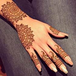 Latest New Style Eid Mehndi Designs For Hands 2017 ...