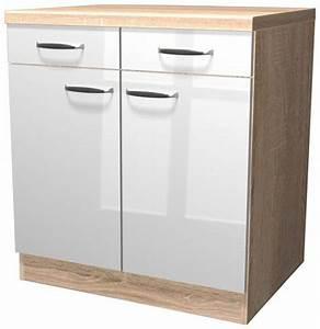 Küchenunterschrank 80 Cm : k chenunterschrank florenz breite 80 cm kaufen otto ~ Whattoseeinmadrid.com Haus und Dekorationen