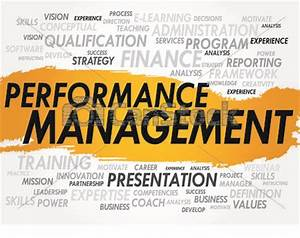 Stock Illustration of Performance Management - Word cloud ...