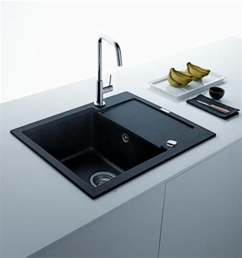black faucets kitchen black kitchen sinks countertops and faucets 25 ideas adding black accents to modern kitchens