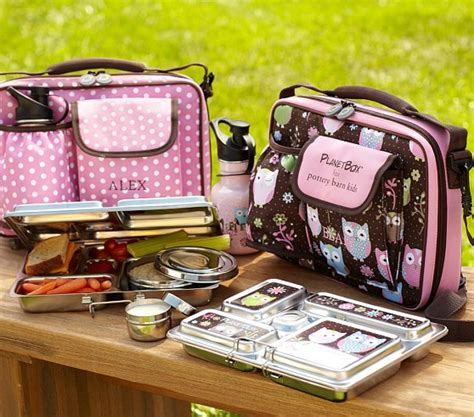 pottery barn lunch box dot and owl planet lunch boxes pottery barn