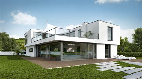Moderne Haus Modern Und Individuell Kommunikation2b