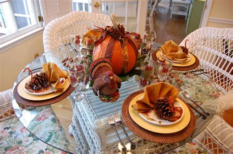 M&s Home Decor : Thanksgiving Tablescape For The Kids
