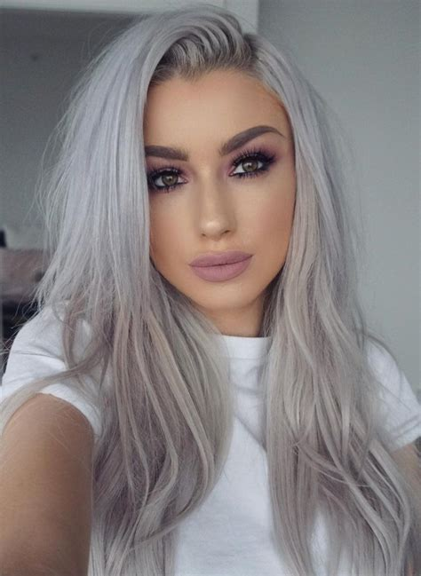 Hairstyles For With Gray Hair by 33 Gorgeous Gray Hair Styles You Will Eazy Glam