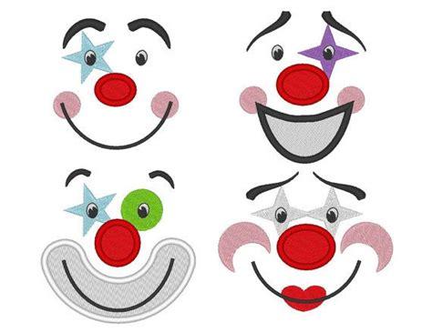 clown gesicht basteln gesichter augen mund pinteres