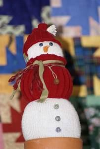 Chaussette A Neige : bonhomme de neige chaussette le blog de ceska ~ Teatrodelosmanantiales.com Idées de Décoration