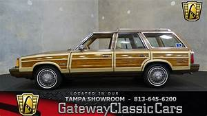 Stock 657 Tpa 1987 Chrysler Lebaron Town  U0026 Country 2 2l L4