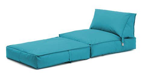 turquoise bean bag z bed lounger outdoor waterproof garden