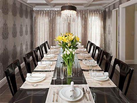 formal dining room wallpaper » Dining room decor ideas and