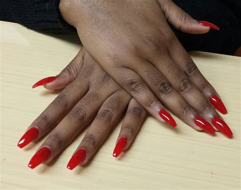 How To Coffin Shaped Acrylic Nails