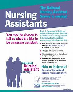 an introduction to the national nursing assistant survey With nurses week flyer templates