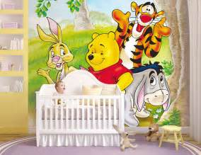 winnie pooh kinderzimmer kinder fototapete poster winnie pooh kinderzimmer bordüre dekoration wandtatoo ebay