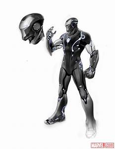 Nice design. Iron Man stealth suit design by Carlo ...