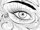 Coloring Eye Pages Printable Eyeball London Drawing Eyes Getdrawings Print Getcolorings Cool sketch template