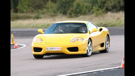 There were 8,800 modenas and 7,565 spiders produced. Ferrari 360 Modena Track Day racing Prodrive Kenilworth - YouTube