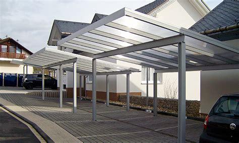 Carport Stahl Modern Und Von Langer Lebensdauer Gewa