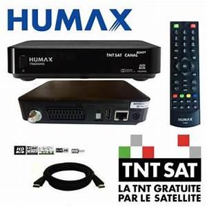 Decodeur Tnt Sat Hd : d codeur tnt hd r cepteur satellite humax tn8000hd pvr ~ Farleysfitness.com Idées de Décoration