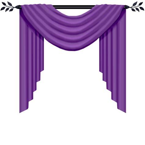 forgetmenot purple curtains