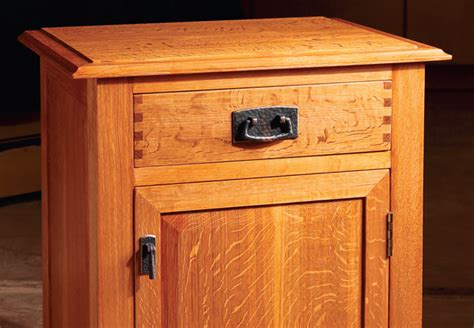 Nightstand Plans Free by Building A Nightstand On The Table Saw Woodworking