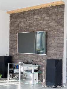 Fernseher An Die Wand : cinewall selber bauen ~ Bigdaddyawards.com Haus und Dekorationen