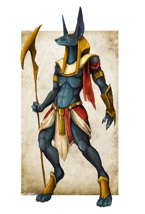 Creature Concept Anubis God Of Death By Feardakez On