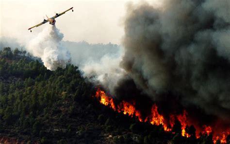 bosbrand vernielt  hectare bos  chefchaouen