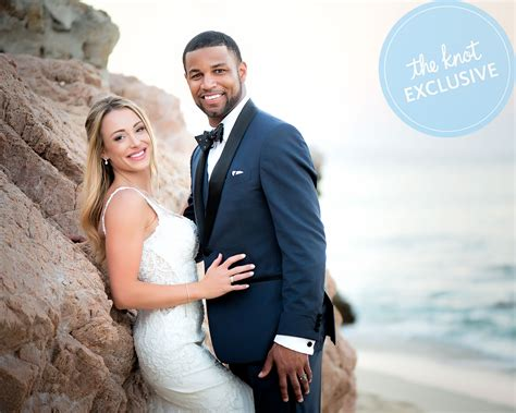 golden tate  elise pollards wedding album exclusive