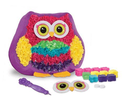 plush craft pillow plush craft owl pal pillow the granville island company