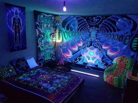 alineymarques room psychedelic neon habitacion de
