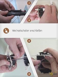 Verteilerdose Anschließen Anleitung : wechselschalter anschlie en 1a werkstatt basteln ~ Watch28wear.com Haus und Dekorationen