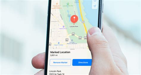 drop a pin how to remember a location ios 11 guide