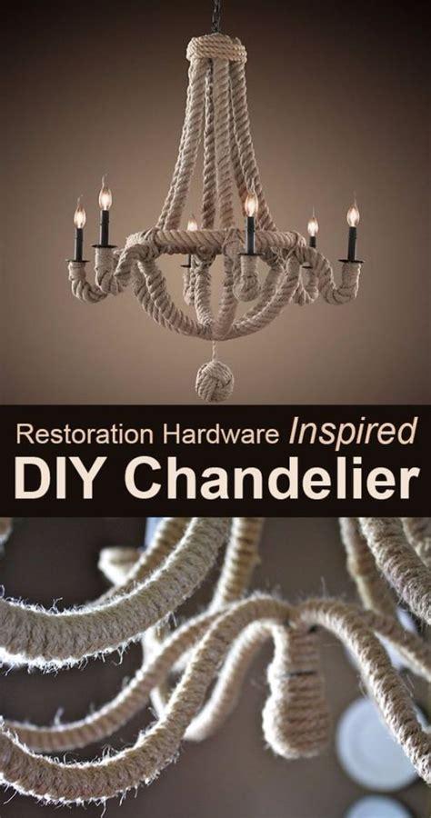 diy chandelier makeovers restoration hardware inspired