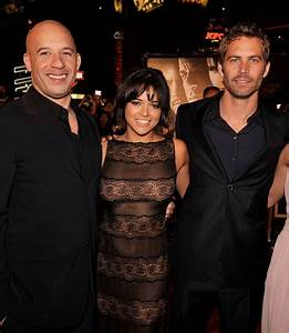 Michelle Rodriguez & Vin Diesel Visited Paul Walker's ...
