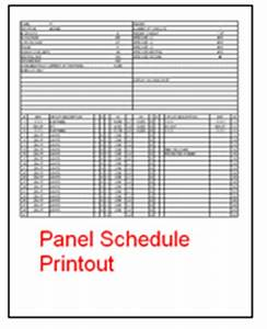 electrical panel schedule template excel schedule With electrical panel schedule template pdf