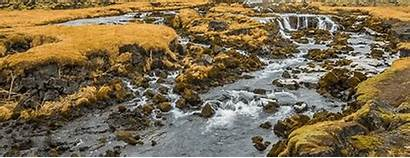 Flowing Water Iceland Giphy Gifs Tweet