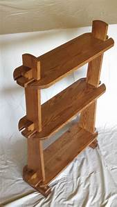 Hand, Crafted, Small, Knockdown, Shelving, Unit, By, Mst, Woodworks, Llc