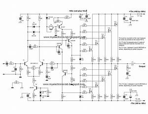 600 Watt Mosfet Power Amplifier Circuits