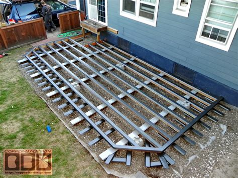 Deck Joist Cover by Cbd S Lenio Custom Harwood Deck Pergola Work Page