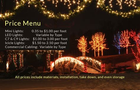 christmas light installation prices sanjonmotel