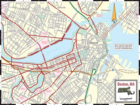 map  boston travelsmapscom