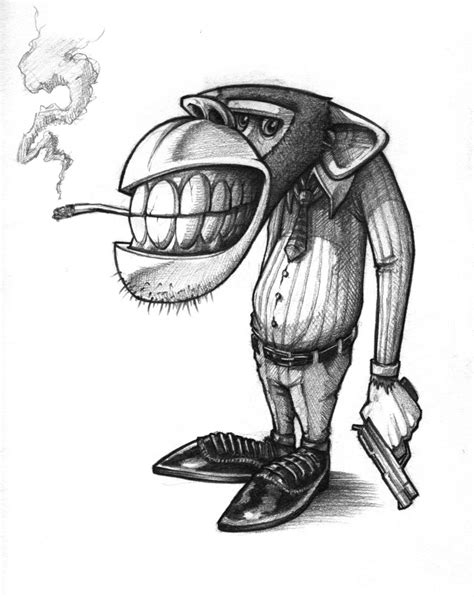 Best Gangster Cartoon Drawings Ideas And Images On Bing Find